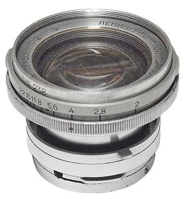 Soviet and Russian Cameras - Jupiter-8 (Kiev)