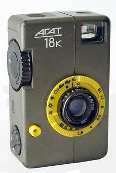 Soviet and Russian Cameras - Agat-18K