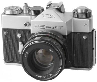 Soviet and Russian Cameras - Zenit-TTL, Zenit-15