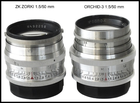 Soviet and Russian Cameras - Orchid-3